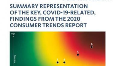 Summary representation of the key findings from 2020 consumer trends report