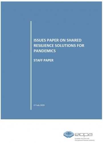 EIOPA shared resilience issue paper